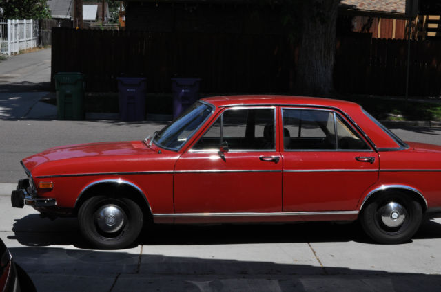 Audi Red For Sale Vintage Audi LS - Audi 100 ls for sale