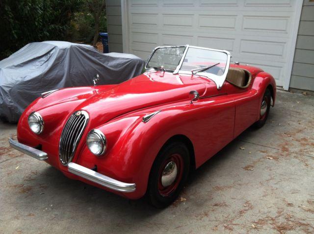 Jaguar Xk Convertible 1952 Red For Sale 1952 Vintage