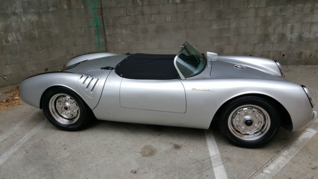 Porsche Other Convertible 1955 Silver For Sale Ca958251