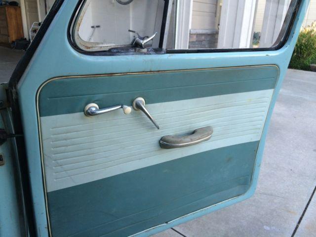 Volkswagen Beetle - Classic 1961 Pastel For Sale. 123456 Volkswagen Rare Pastel interior Blue VW ...