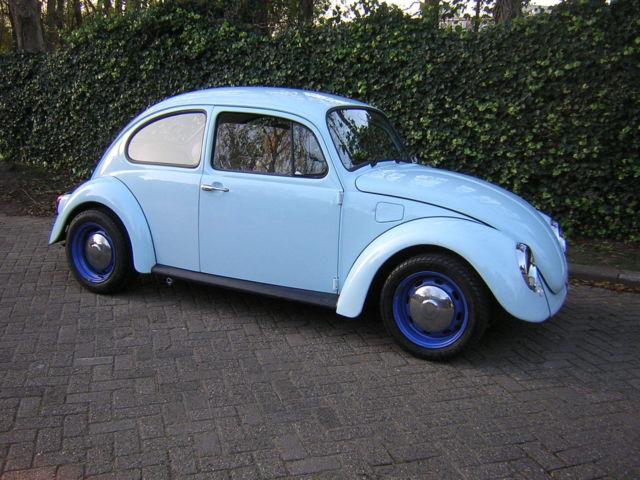 Volkswagen Beetle - Classic 1975 Blue For Sale  Volkswagen VW