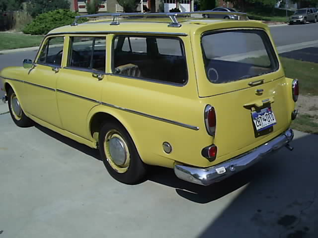 volvo 122 wagon 1963 yellow for sale 2754 volvo 122 amazon wagon 1963. Black Bedroom Furniture Sets. Home Design Ideas