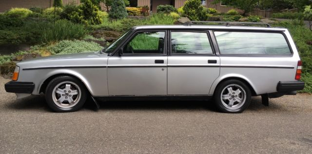 Volvo 240 Wagon 1983 Silver For Sale. YV1AX4750D1445955 Volvo 245 turbo intercooler. Hauls ...