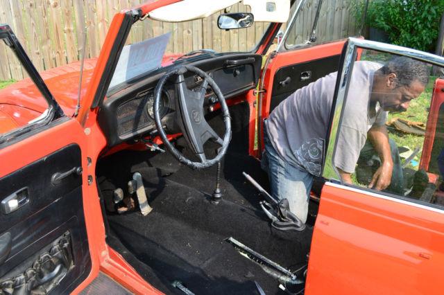 Volkswagen Beetle - Classic Convertible 1972 Orange For Sale. 1522011215 VW 1972 Super Beetle ...