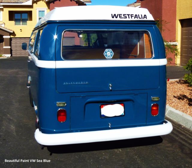 Where Can I Buy A Volkswagen Bus: Volkswagen Bus/Vanagon 1968 Sea Blue For Sale. 8131461 VW