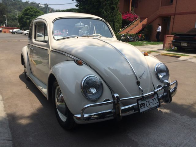Volkswagen Beetle Clic Sedan 1968 Cream For Vw Red 80 Color In Excellent Condition
