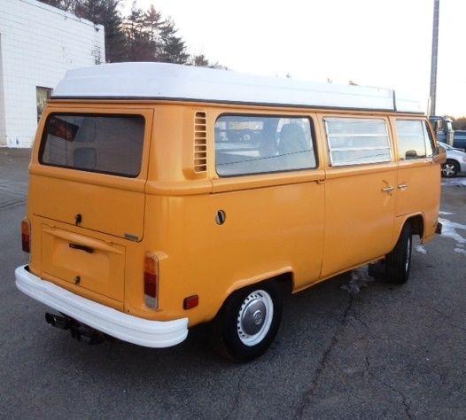 Where Can I Buy A Volkswagen Bus: Volkswagen Bus/Vanagon Van Camper 1976 Yellow For Sale