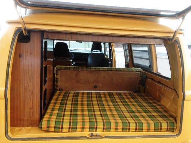 Volkswagen Bus/Vanagon Van Camper 1976 Yellow For Sale ...