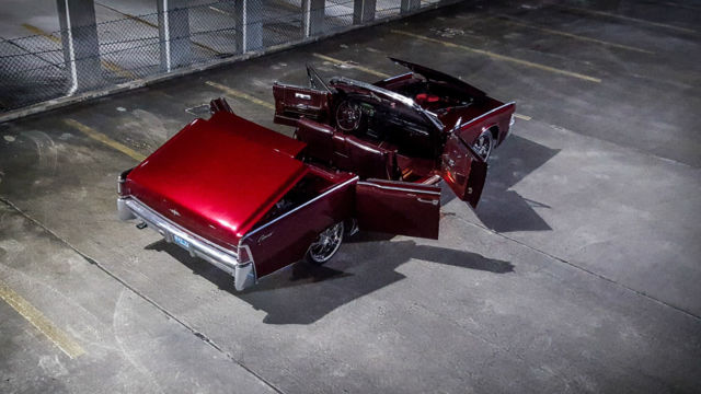 Lincoln Continental Convertible 1965 Burgundy For Sale 5y86n431448 Watch Video No Reserve