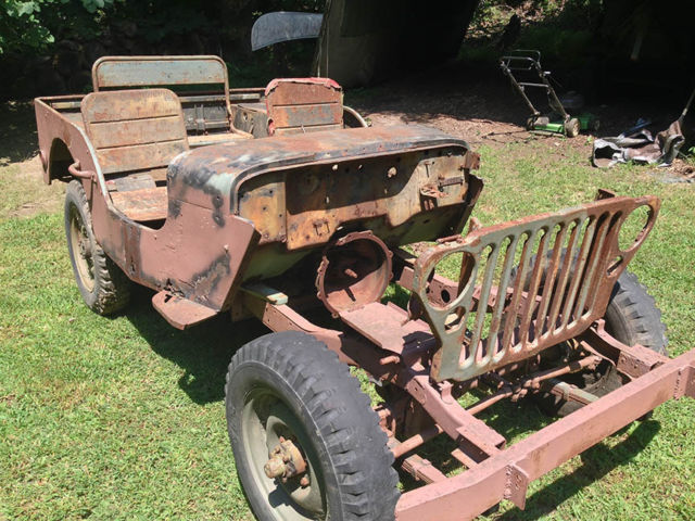 willys mb gpw 1942 for sale willys mb jeep 1942 basket case project. Black Bedroom Furniture Sets. Home Design Ideas