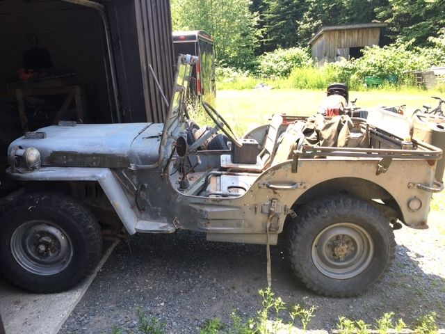 Willys 1945 For Sale  Willys MB slat grill / ford gpw / WWII