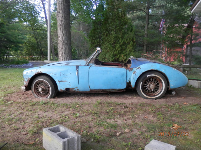 MG MGA Convertible 1958 For Sale. Wire wheel roadster project car